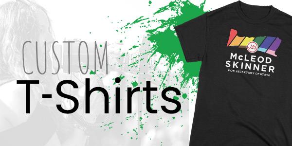 Shop Custom T-Shirts